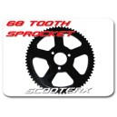 68 tooth rear sprocket