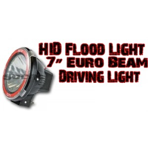 7'' Euro Beam HID Light