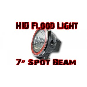 7'' Spot Beam HID Lights