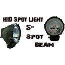 5'' Spot Beam HID Lights