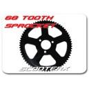 68 tooth rear sprocket