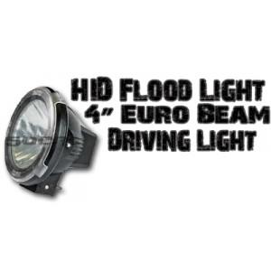 4'' Euro Beam HID Light