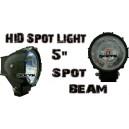 5'' Spot Beam HID Lights